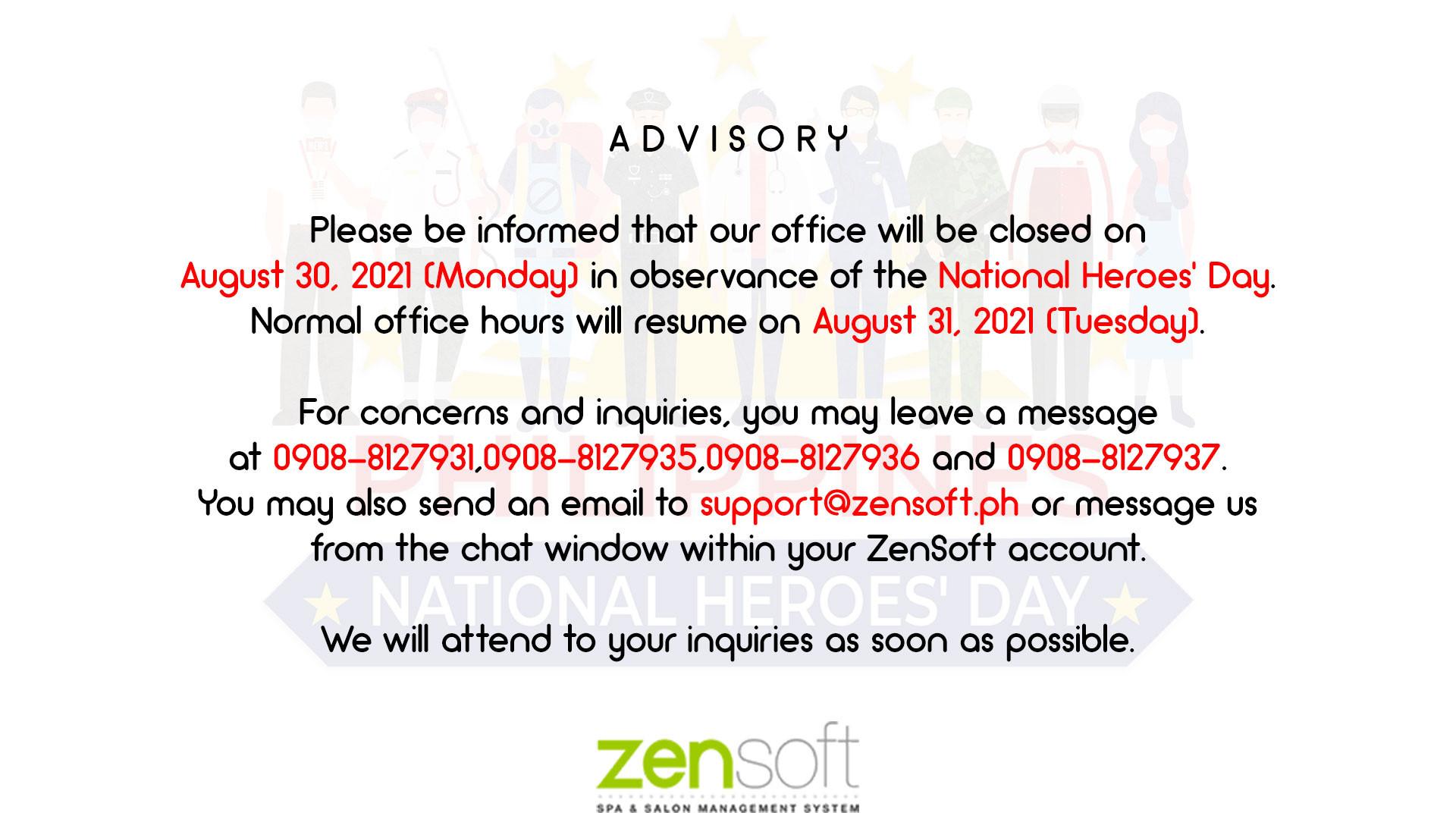 Zensoft Announcement